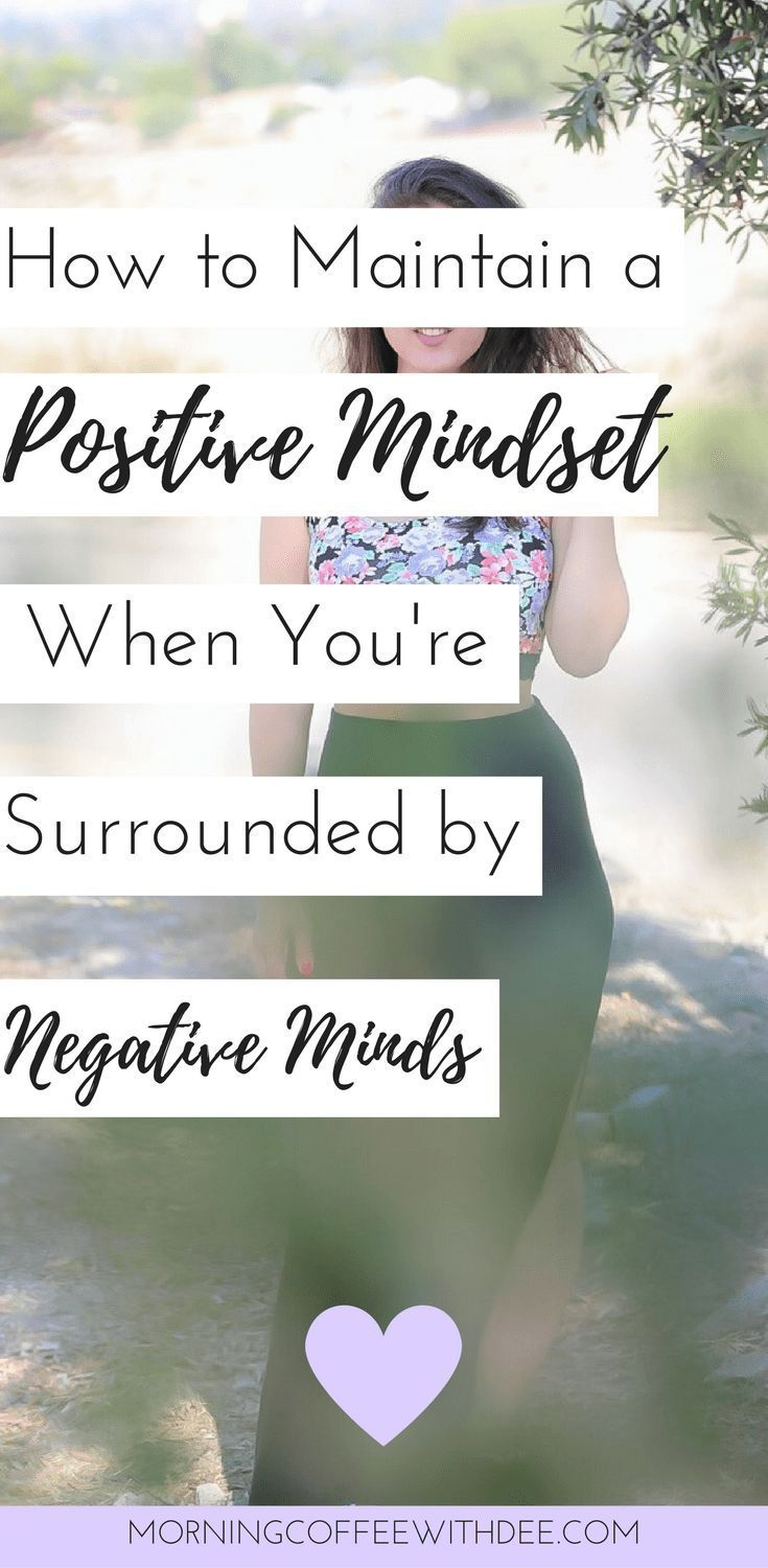 how to change your mindset from negative to positive