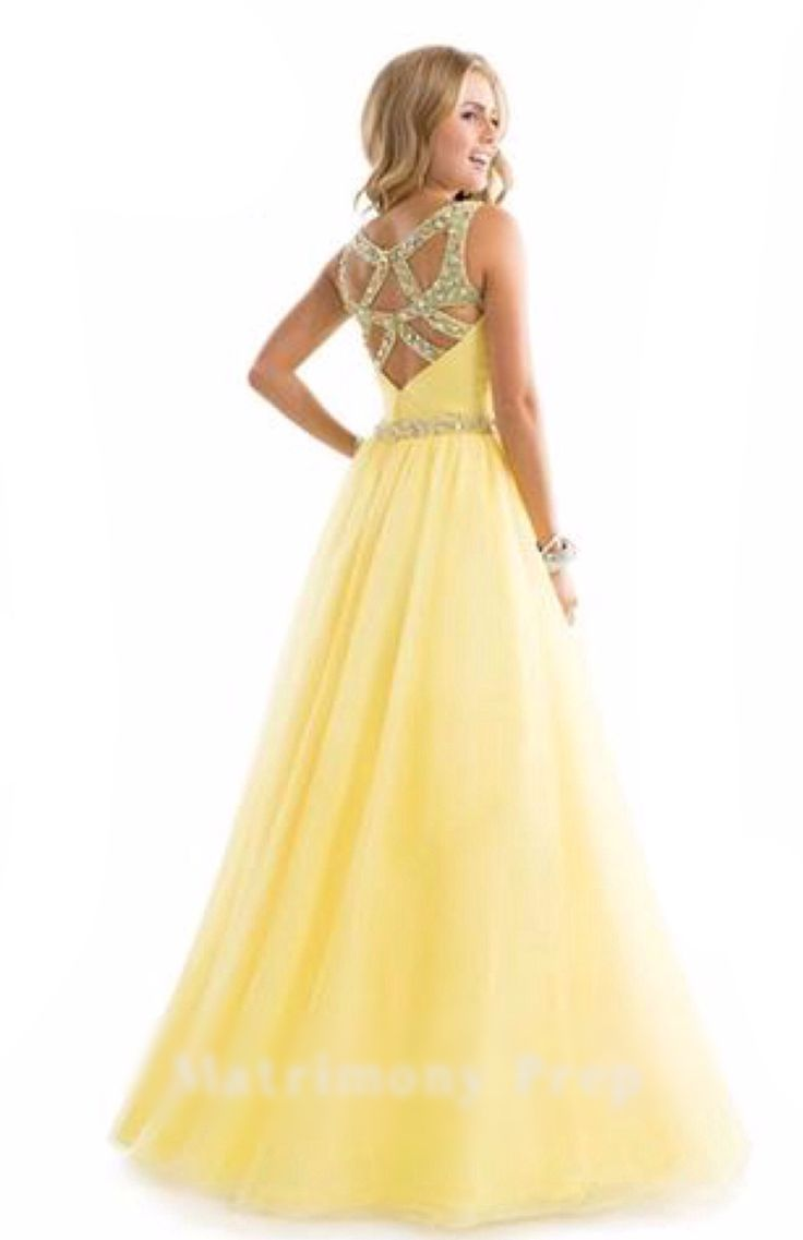 25  best Yellow evening dresses ideas on Pinterest | Yellow prom ...