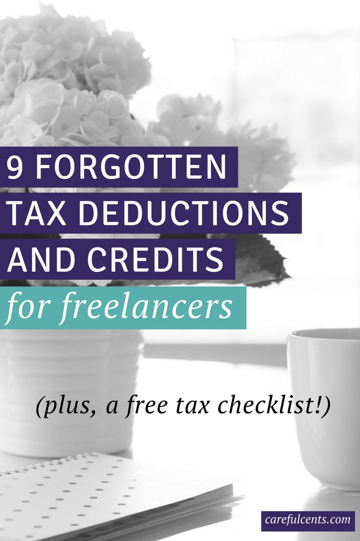 Think you forgot a tax deduction or credit? Get the free tax checklist for freelancers to ensure you can save the most money on your taxes.