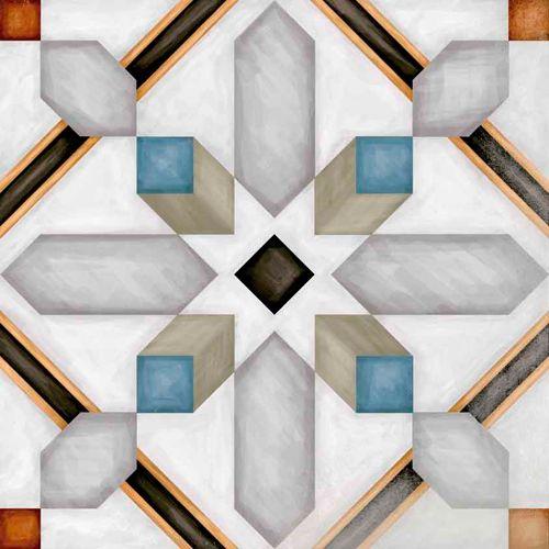 #Vodevil #Demel #Multicolor 20x20cm. #MaisonBoheme| #Pavimento #Porcelánico | #VIVES Azulejos y Gres S.A.