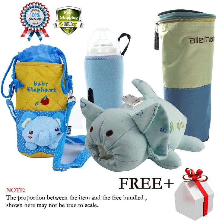 Travel Portable Baby Bottle Warmer Kids Feeding Milk Storage Holder Carrier Bag Insulator Carrier Cooler Could Be Attached to Stroller 4 Pack. This bottle bag is a great gift for your baby in winter. Ideal for travelling and warming up feeds. It can keep your baby's feeding bottle warm, prevent scalding your kids hands and breaking the bottle. Warm bottles or jars of food. No power source needed. Compact for travel or daycare. package included: 4 pcs baby bottle with 1 pcs free gift....