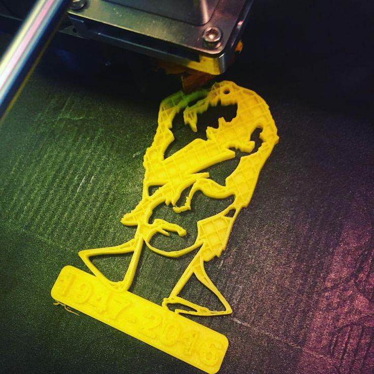 Forever #3Dprinting #DavidBowie !! #Thankyou  #RIPdavidbowie #WhereareWenow #3Dprint @voltivo
