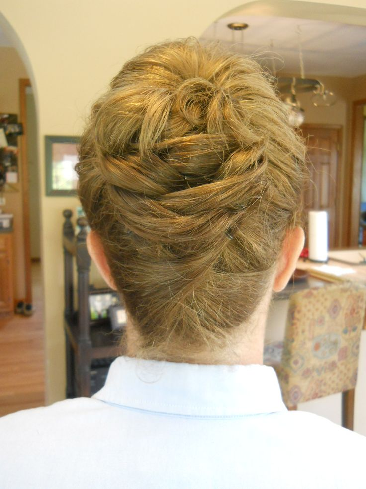 Wedding hair - Mother of the Bride modern French twist updo with curls styled by Carrie at Appease Inc. Need hair or makeup for your wedding or special event? We travel anywhere! See our website at www.appease2you.com for details.