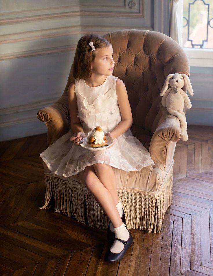 Claire Dhelens, Vogue Enfants, les petites filles modeles