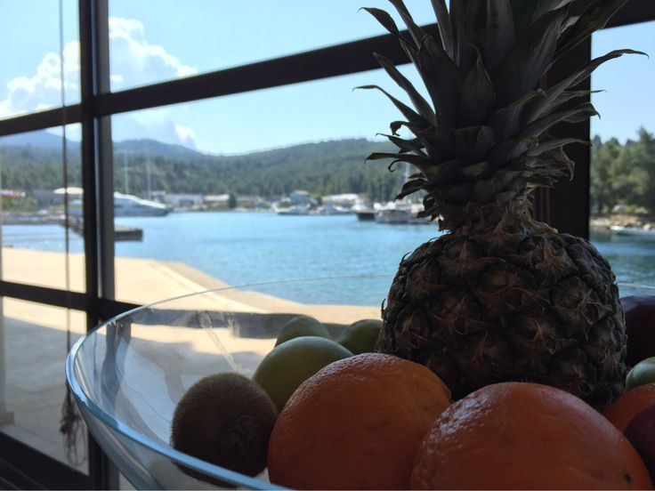 Start your week with the healthiest possible way while enjoying the view of Porto Carras Marina !