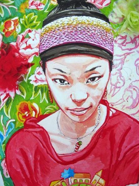 """""""Mei Mei"""" by Titouan Lamazou"""