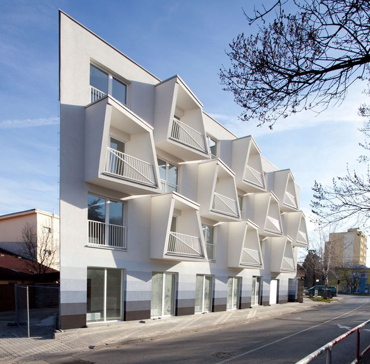 north star apartments by nice architects feature extruded balconies