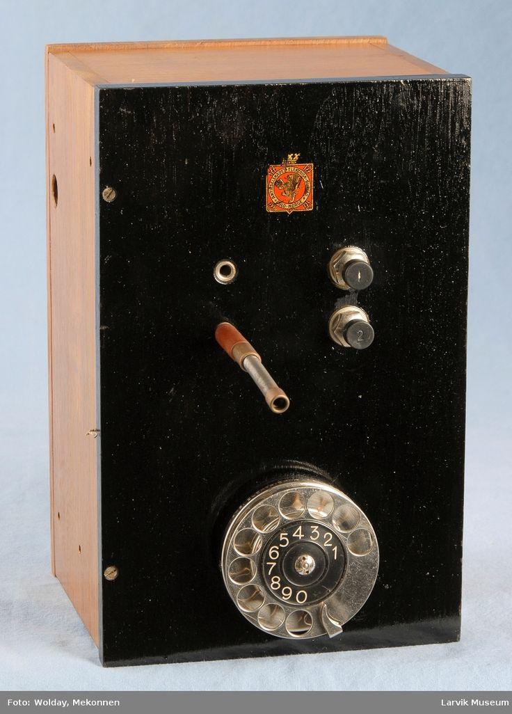 DigitaltMuseum - Telefonutstyr