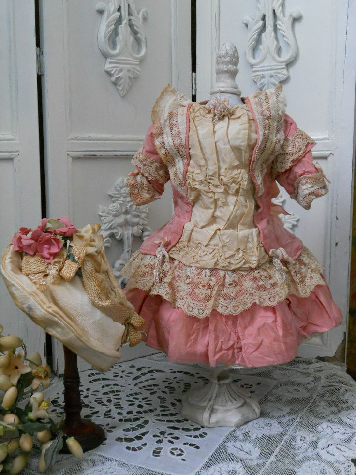 ~~~ Marvelous French Small BeBe Costume with Bonnet ~~~ from whendreamscometrue on Ruby Lane