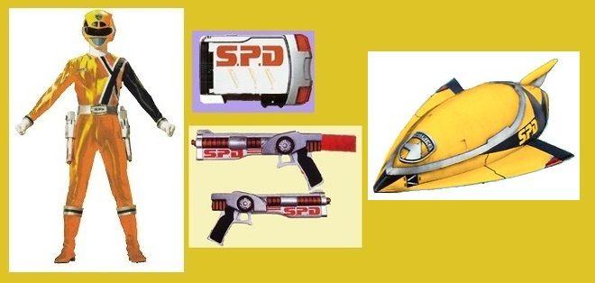 SPD Gold Ranger by Greencosmos80 on DeviantArt