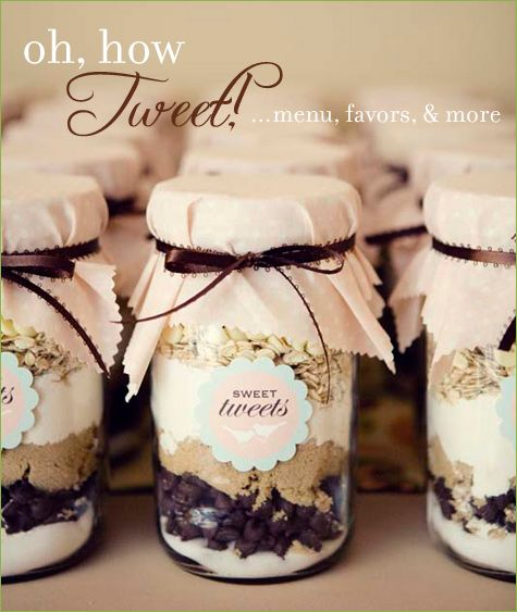 Thank you gift - cookies in a jar.