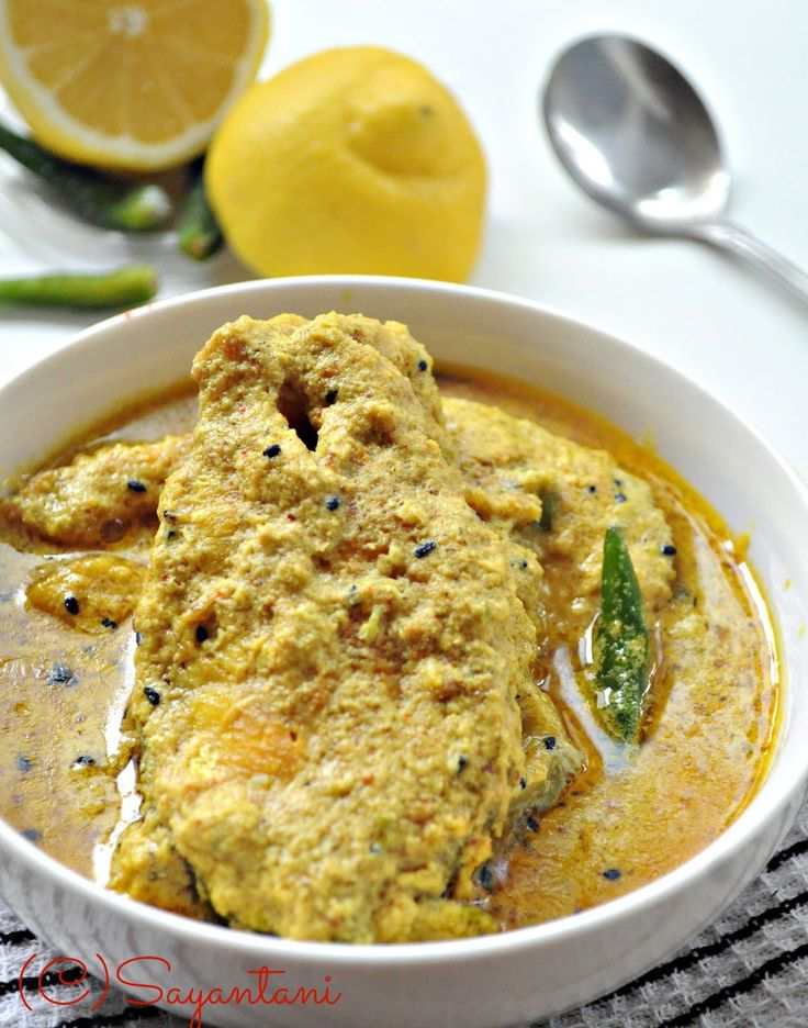 A Homemaker's Diary: Til Rui (Rohu fish in Spicy sesame and mustard gravy)