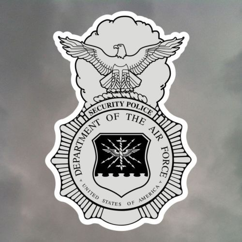 Air Force Security Police Stickers #securitypolice #security #securityforces #SP #SF