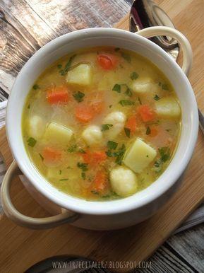 Zupa 'Dziad z babą' - kuchnia podkarpacka