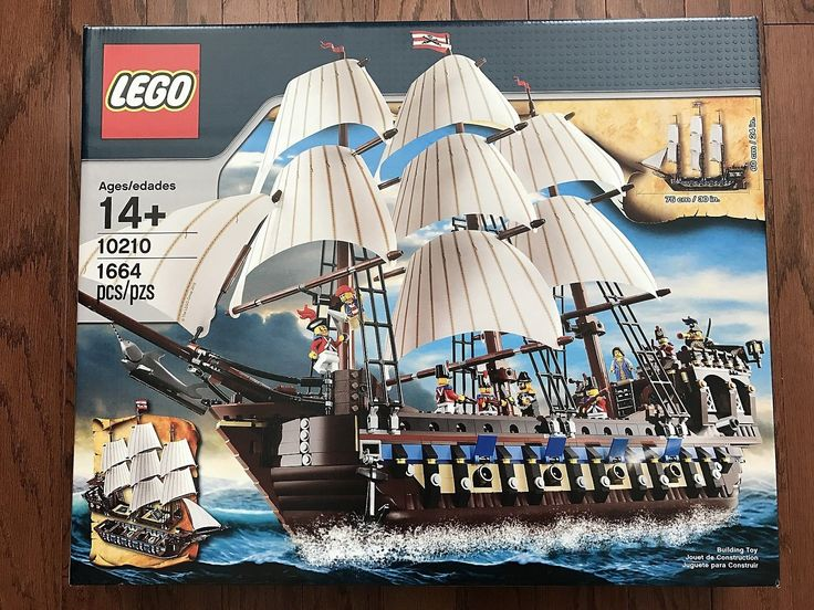 LEGO  10210  Pirates  Imperial Flagship  New Sealed Box