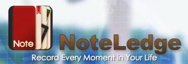 NoteLedge llegó a los tablets Android para que podamos crear y gestionar notas multimedia