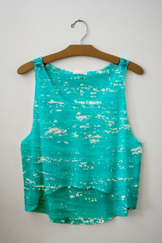 turquoise dreams: Fresh Tops, Style, Crop Tops, The Ocean, Tanks Tops, T Shirts, Beavers Tail, Summer Clothing, Ocean Tanks