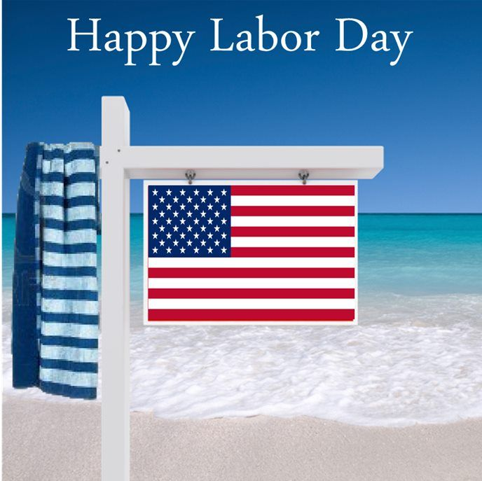 is labor day a flag holiday
