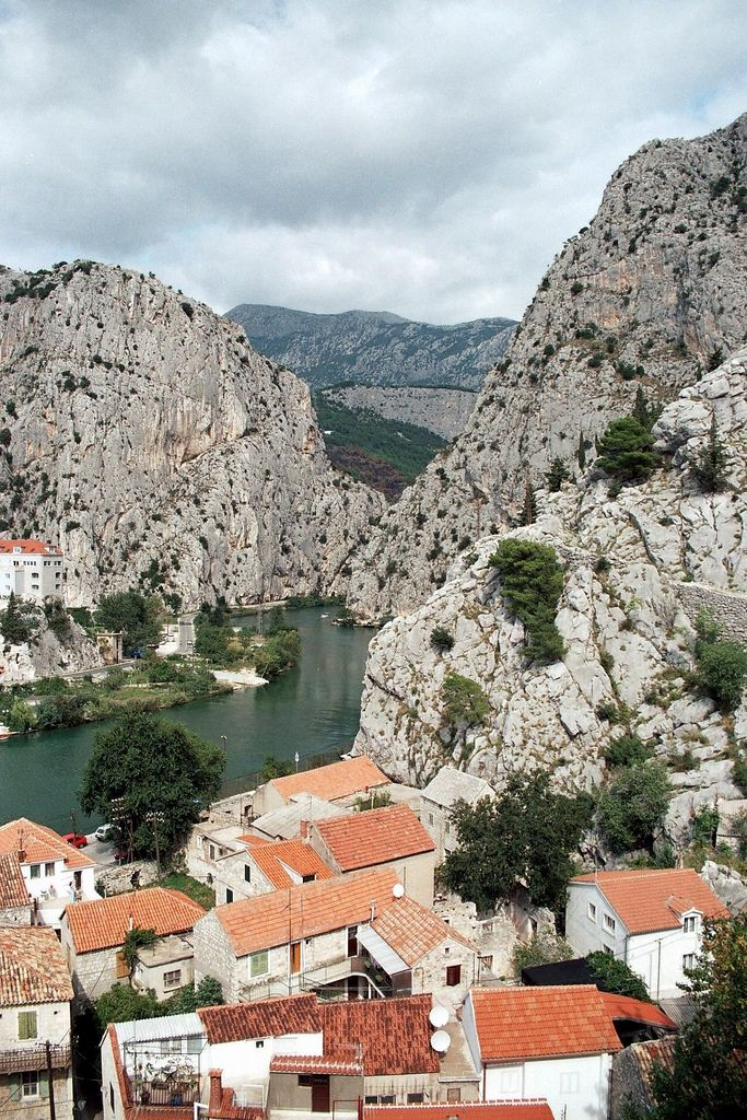 Omis, Croatia.  Our tips for 25 places to see in Croatia: http://www.europealacarte.co.uk/blog/2012/01/05/what-to-do-in-croatia/
