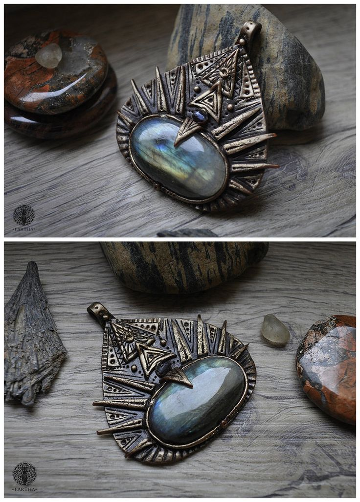 Trigon by Eartha Creations on DevinatArt. #jewelry #handmade #unique #fantasy