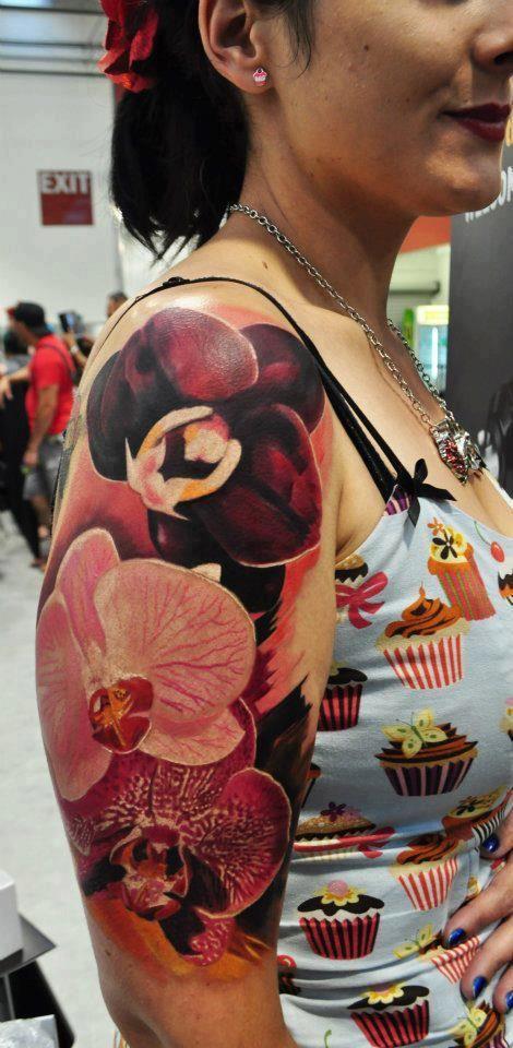 Cool arm piece done by Pepa at Bohemian Tattoo Arts. NZL Tattoo Scene. #tattoo #tattoos #ink