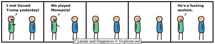 Cyanide and Happiness - #comics #Donaldtrump