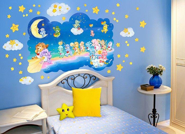 39 best care bears images on pinterest care bears vinyl for Care bears wall mural