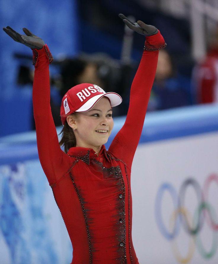 Yulia Lipnitskaya Gold Medal 38 best images about f...