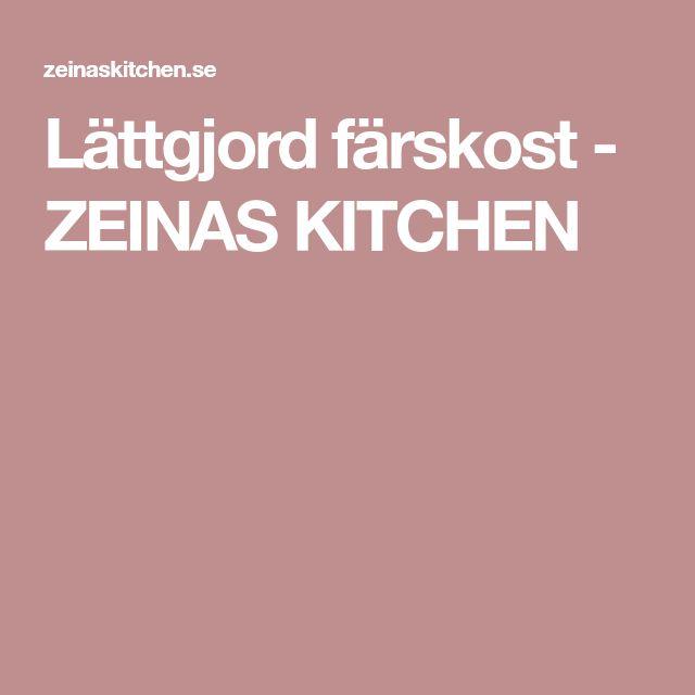 Lättgjord färskost - ZEINAS KITCHEN