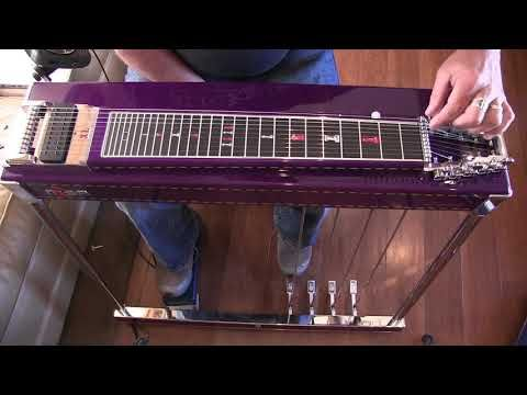 THE NEW MSA LEGEND XL S10 PEDAL STEEL GUITAR - YouTube