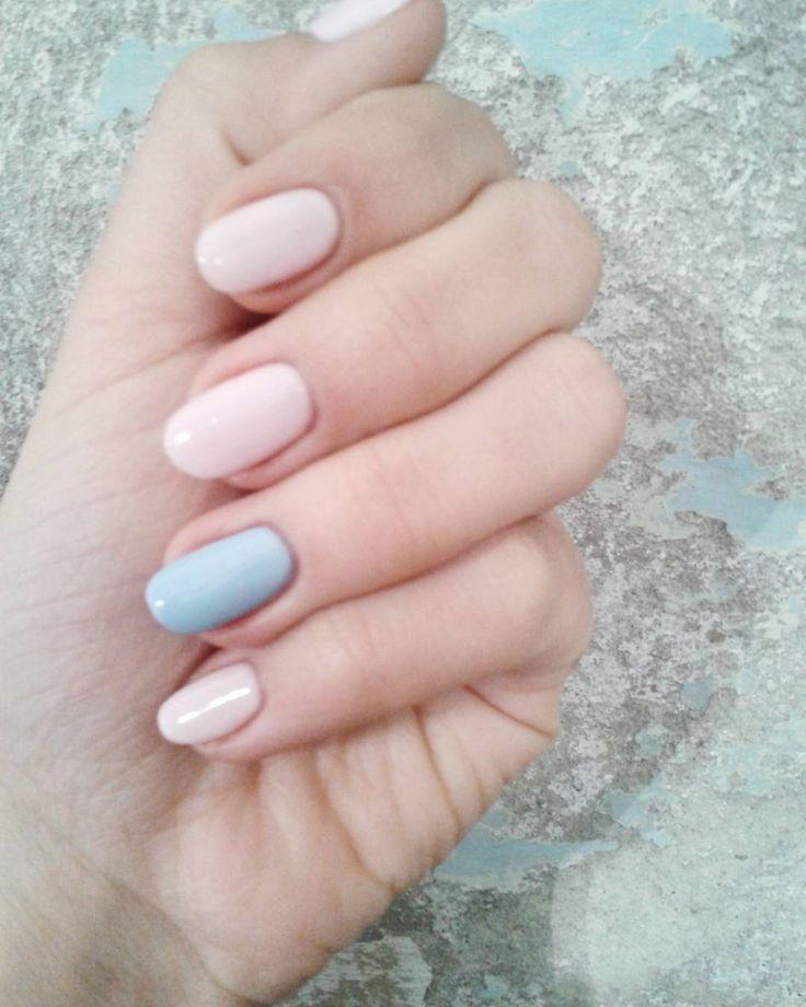 #semilac #hybrid #manicure #akademiasemilac #topnowipe #nails#hybrids by wikus02p