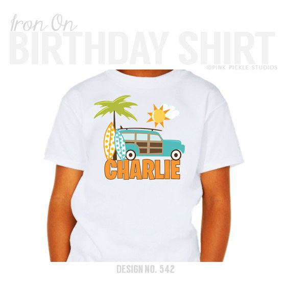 9 best birthday shirts images on pinterest iron on for Custom t shirt transfers