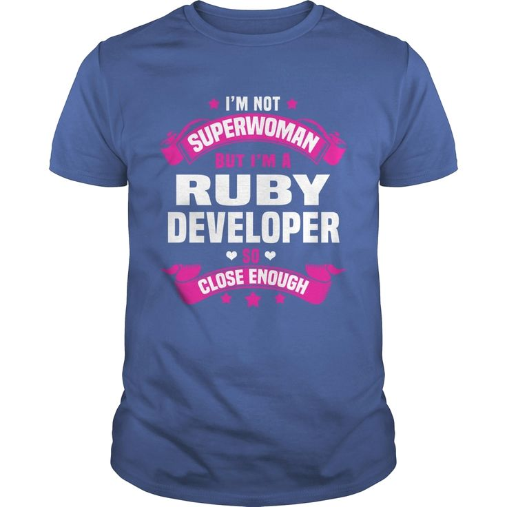 Ruby Developer, Order HERE ==> https://www.sunfrog.com/Jobs/113189932-405979677.html?58114, Please tag & share with your friends who would love it, #xmasgifts #birthdaygifts #renegadelife