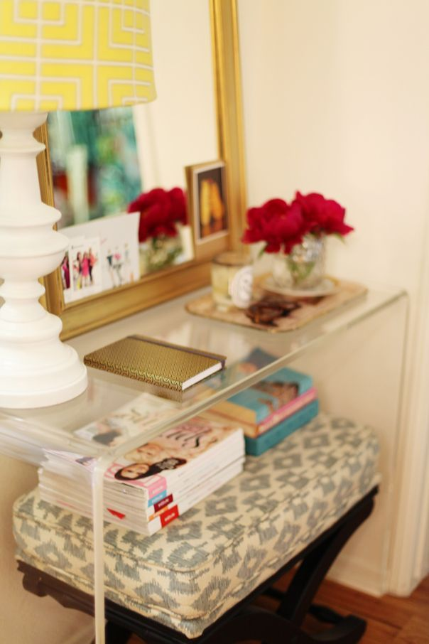 lucite tablestyle at home devon dyer