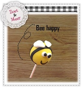 Bee Happy & Cakepop