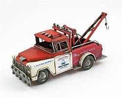 Metal Red Tow Truck - $41.49