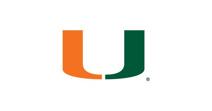 The 2016 Miami Hurricanes Football Schedule with dates, times, TV network, and…