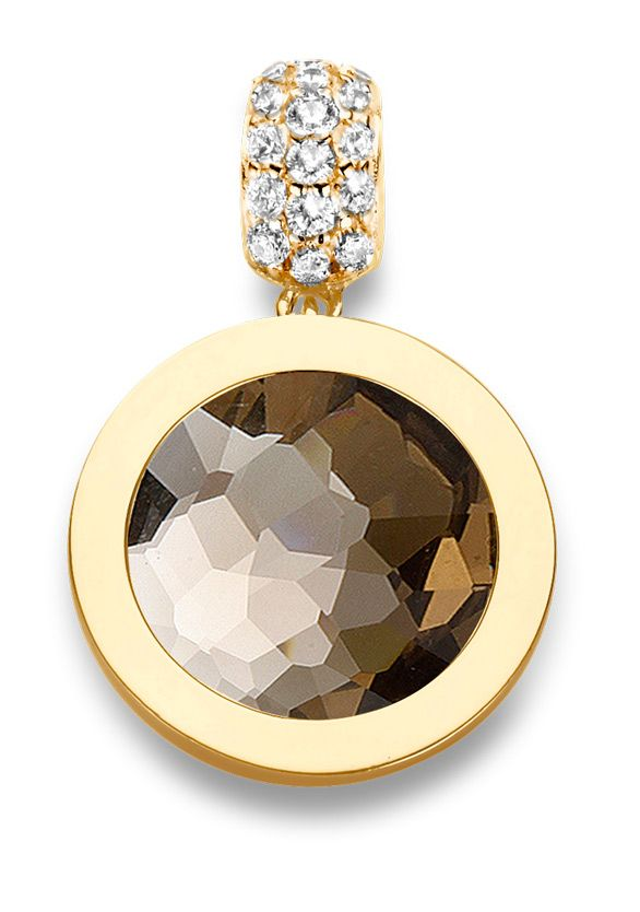 Mi Moneda XS Pendant - Gold Plate.