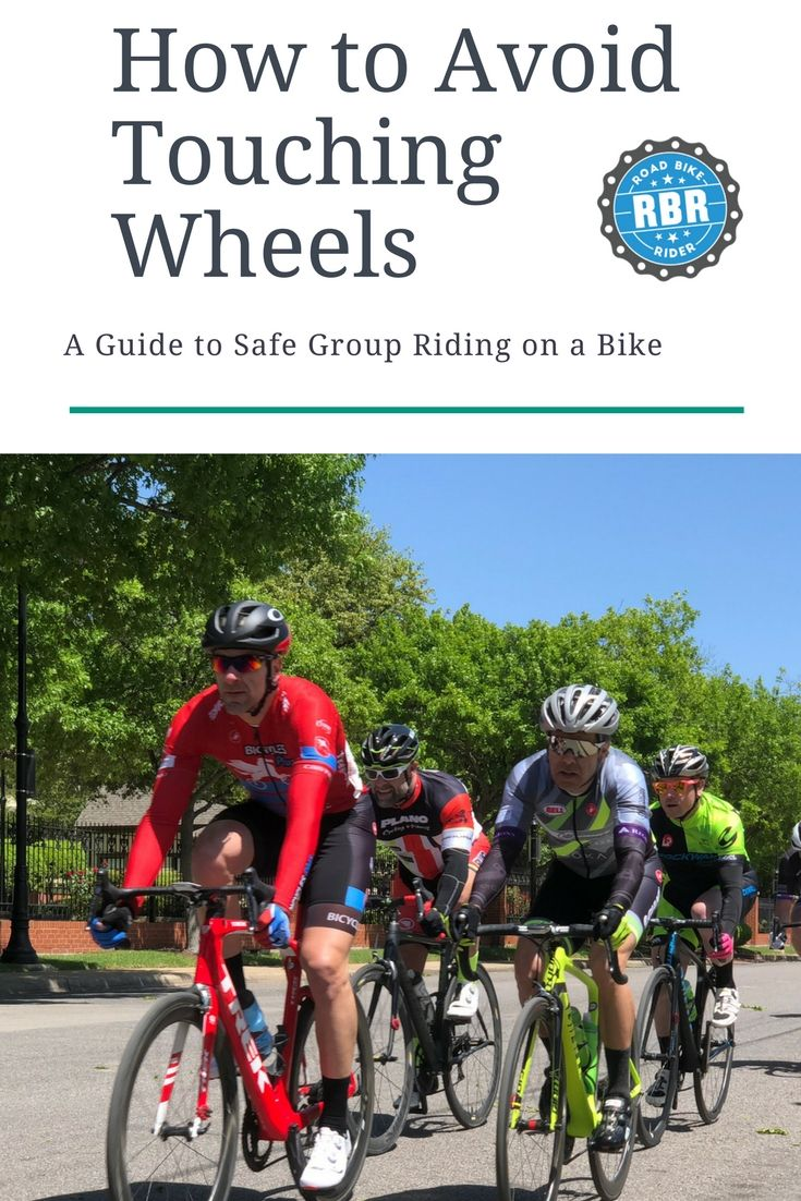 How To Handle Touching Bicycle Wheels On A Group Ride Bike Rider