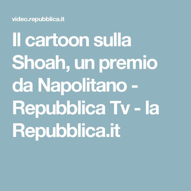 Il cartoon sulla Shoah, un premio da Napolitano - Repubblica Tv - la Repubblica.it