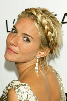 IN for 2012  Braided Updo