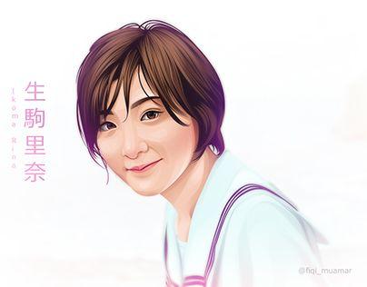 """Fan Art Ikoma Rina Nogizaka46 Vector Vexel"" http://be.net/gallery/44515705/Fan-Art-Ikoma-Rina-Nogizaka46-Vector-Vexel"