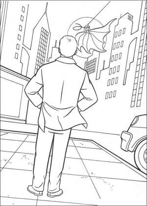 Batman Coloring Page 37 Is A From BookLet Your Children Express Their Imagination When They Color The