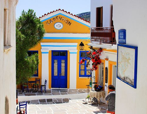 Lefkes, Paros Island, Cyclades, Greece