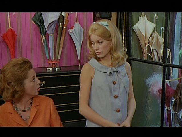 Catherine Deneuve in the dreamy Umbrellas Of Cherbourg