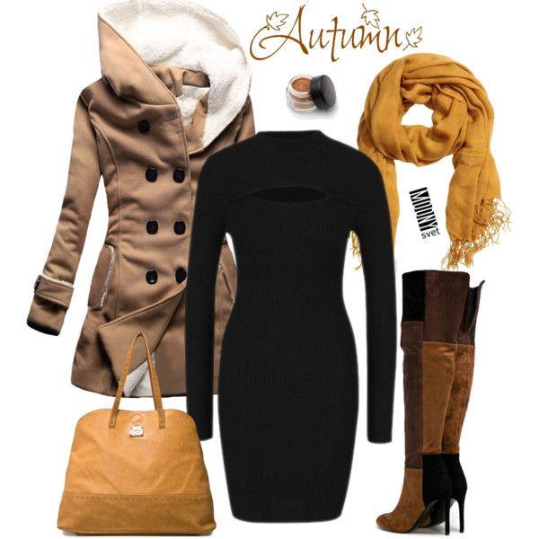 čierne svetrové šaty
