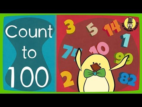 Count to 100 Song | Big Numbers Song | The Singing Walrus - YouTube