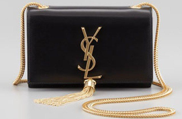 A girl can dream, right? YSL - Cassandre Small Tassel Crossbody ...