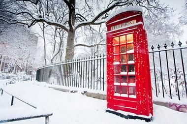 ClippingBook - Destinations for a White Christmas, London, UK, discount flights christmas vacation packages christmas decorations