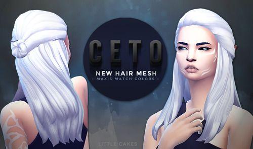 Ceto Hair by littlecakes via tumblr | Sci-Fi + Alien | Hair